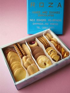 ローザー洋菓子店(麹町)  クッキー詰め合わせ