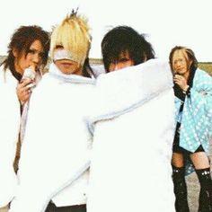 Aoi, Reita, Kai, Uruha - The GazettE