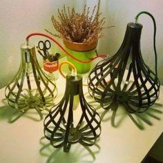 TROTTOLINO . LAMPADA Design . ABAT JOUR in Ferro . 477