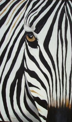 Zebra Abstract Painting BTW, Check Out This Art Here: -- universalthroughp...