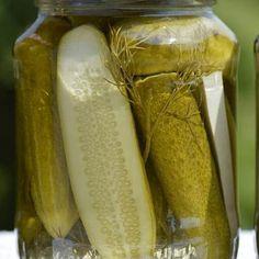 Csemege uborka - Weninger Befőzőautomaták Pickles, Cucumber, Automata, Food, Essen, Meals, Pickle, Yemek, Zucchini