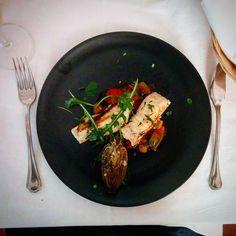 Der 4. Gang unseres Osteressens - #gefiltefish auf #sizilien . #lunch #foodporn #seafood
