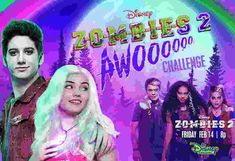 Disney Zombies 2 AWOO Sweepstakes (Z2awoo.com) Best Zombie, Zombie 2, Disney Love, Disney Frozen, Meg Donnelly, Disney Decendants, Princess Birthday Invitations, Zombie Disney, Two Wolves