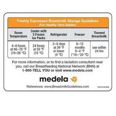 Breast milk storage guidelines #macobgyn #breastfeeding #postpartum