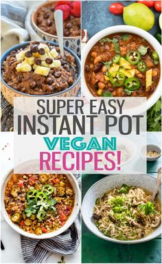 These Instant Pot vegan recipes are here to help make your weekly meal planning easier! From vegan breakfast recipes to soups and stews, and even vegan desserts, we are covering all of the bases! If your days are busy and you can't imagine how you will find time to cook vegan meals for your family,Read  More