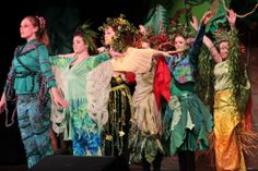 me and my plant dancers from Tarzan