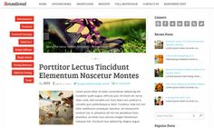 #Sensational_WordPress_Theme brings out the awesomeness of your blog to the fullest. #wp_theme For download visit: http://www.fthemes.net/sensational-wordpress-theme/#ixzz2cVRRiwcF