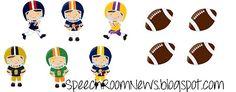 Speech Room News: Down the Field; Football Freebie
