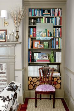 What They Did: Living Room | A young couple honored their historic Charleston, South Carolina, house by taking it back to its roots.
