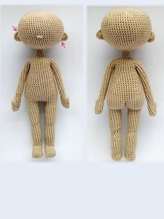 Crochet Doll Pattern, Crochet Dolls, Knit Crochet, Crochet Patterns, Chrochet, Photo Tutorial, Amigurumi Doll, Yarn Crafts, Base