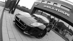 Wheelsandmore Jaguar F-Type S 4.2 dons custom rims and more powerful engine