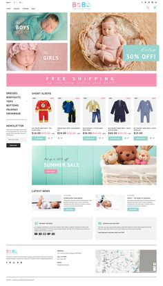 BoBo - Baby Online Store PrestaShop Theme - http://www.templatemonster.com/prestashop-themes/bobo-baby-online-store-prestashop-theme-60065.html