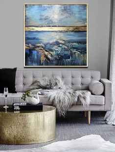Sense of Calmness - Abstract Painting, Original Painting, Modern Art, x Painting, Gold Leaf Soft Colors Modern Textured Painting Abstract Landscape Painting, Abstract Canvas, Oil Painting On Canvas, Landscape Paintings, Abstract Paintings, Painting Art, Watercolor Painting, Your Paintings, Original Paintings