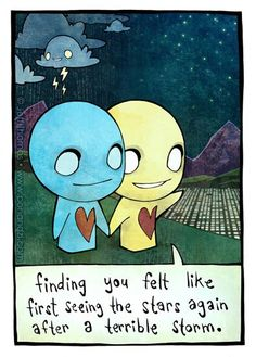 Pon & Zi...this is exactly how it felt when i met my man!