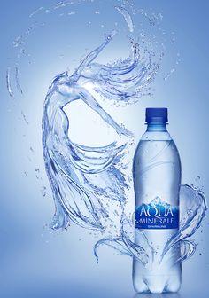 Aqua by Aleksandr Kuskov, via Behance