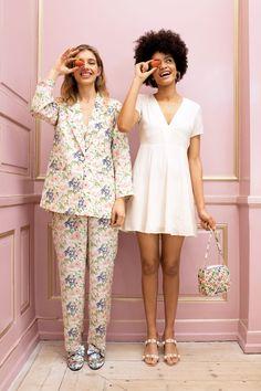 Silky dress - Old ice white - Dresses - Monki FR