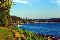 Gene Coulon Park along Lk Washington  in Renton , WA Still enjoy family times here