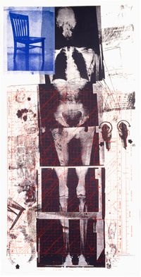 Robert Rauschenberg: self portrait.  The Museum of the Gulf Coast, in  Port Arthur, Texas (Rauschenberg's home town), has a permanent exhibition of Rauschenberg works.