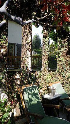 Miroirs de jardin