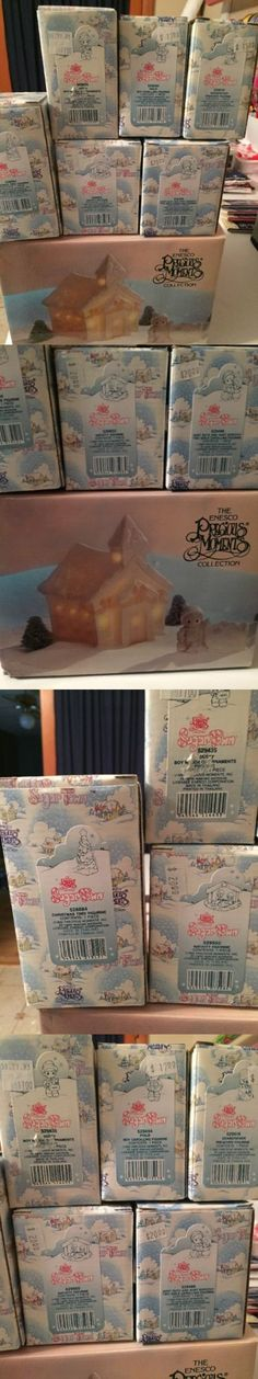 Cherished Teddies Christmas: Precious Moments Sugar Town Chapel Collectors Set-Mib!! -> BUY IT NOW ONLY: $45 on eBay!