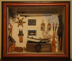 Nautical Shadow Box | eBay