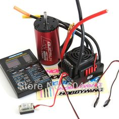 160.44$  Buy now - http://aliqxi.worldwells.pw/go.php?t=1609559843 - QuicRun-WP-8BL150 Sensorless Brushless Speed Controllers  ESC+ motor kv2000 +PROGRAM CARD  for 1/8  Hobbywing QuicRun