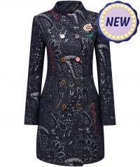 Luxurious Jacquard Coat