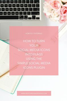 Want to dress up your social media icons? How about we turn them into these cute little flag icons?! Follow this tutorial and see how to turn your social media icons into flags using the simple social media icons plugin!