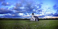 Little church on the prairie. From: Perambulating in the people's republic of canuckistan.