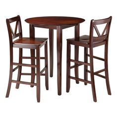 Winsome Fiona 3 Piece Pub Table Set & Reviews | Wayfair