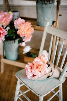 ShabbyChic/FrenchFlowerMarket/ParisainFlowerMarket  Vintage Rentals Toronto www.southerncharmvintagerentals.com  (concept by The Cocoa Cakery. Photo by Simply Lace Photography)