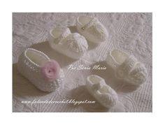 sapatinhos de crochê para bebês