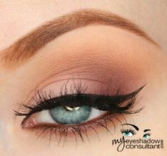 MUG: sorbet, cherry cola, creme brulee - http://myeyeshadowconsultant.com/2015/11/15/makeupgeek-matte-eyeshadow-looks/