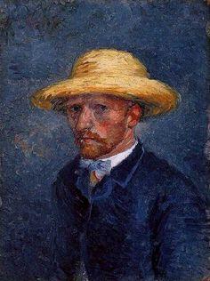 Portrait of Theo van Gogh    Oil on cardboard  19.0 x 14.0 cm.  Paris: March-April, 1887    Amsterdam: Van Gogh Museum