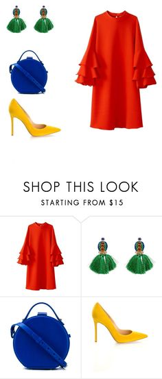 """""""1"""" by rodgerixa on Polyvore featuring Eye Candy, Nico Giani and Gianvito Rossi"""