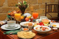 a wonderful breakfast