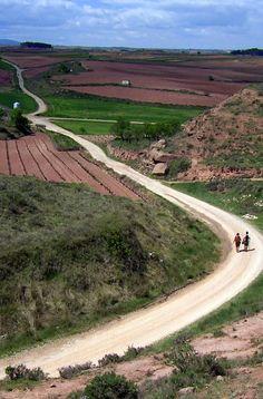 Walking the Camino de Santiago.