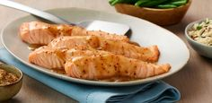 Cooking with Becel® Buttery Taste margarine is the key to a luscious, buttery tasting sauce that caramelizes the salmon in the oven – yet has 80% less saturated fat than butter.
