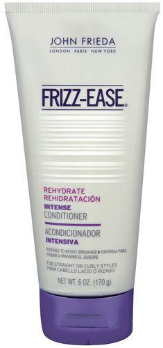 John frieda frizz-ease rehydrate moisture binding deep hair conditioner - 6 oz