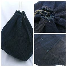 Komebukuro Rice Bag - RARE - Antique. ¥7000, via Etsy.