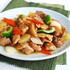 Tangsuyuk (Sweet and Sour Beef or Pork)