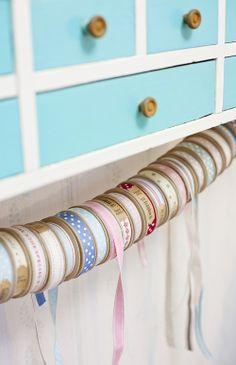 ribbon spool organization