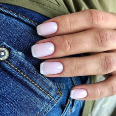 Want some ideas for wedding nail polish designs? This article is a collection of our favorite nail polish designs for your special day. Nude Nails, Nail Manicure, Acrylic Nails, Stylish Nails, Trendy Nails, Natural Looking Nails, Wedding Nail Polish, City Nails, Minimalist Nails