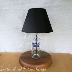 Vodka Lovers Table Lamp - I have a range of one-off bespoke lamps which make fun unusual gifts for friends, family or loved ones. If you have a present to buy for someone who loves planes or who has a favourite tipple, then look no further. Youll see a selection of what I currently have in stock, which include Bombay Sapphire Gin lamps, Whiskey, Port, aeroplane/fighter jet, Adult Lego, Stone Effect bottle, Jim Beam Whiskey, Absolute Vodka, champagne and Prosecco lamps. If youre looking for…