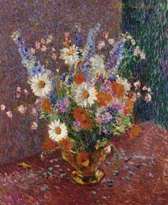 James Bolivar Manson - Still Life with Flowers | por irinaraquel