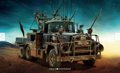 Mad Max: Fury Road Vehicle Guide: The Cars & Trucks of the Post Apocalypse