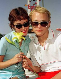 Rose Byrne & Heath Ledger by Rupert Thorpe