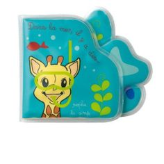 Vulli Sophie the Giraffe Bath Book, $14.60