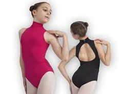 Dans-ez's microfibre camsiloe leotard has a dramatic twist action ...