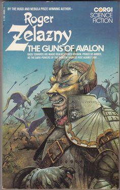 """Roger Zelazny, """"The Guns of Avalon"""" cover"""